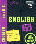 Gold Stars : English  : Plus test book with 20 tests - Ages 9-11