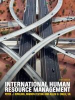 International Human Resource Management : 6th Edition - Peter Dowling