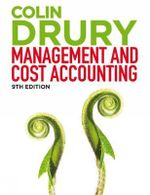 Management and Cost Accounting - Colin Drury