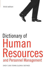 Dictionary of Human Resources and Personnel Management : Over 6,000 terms clearly defined