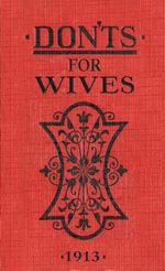 Don'ts for Wives : eBook Epub - Blanche Ebbutt