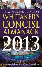 Whitaker's Concise Almanack 2013 : Whitaker's - Bloomsbury