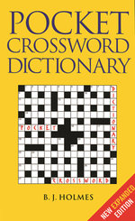 Pocket Crossword Dictionary - B. J. Holmes
