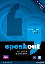 Speakout Intermediate Students Book and DVD/Active Book Multi-Rom Pack :  Workbook (No Key but with CD-Rom) - Antonia Clare