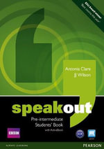 Speakout Pre-Intermediate Students Book and DVD/Active Book Multi-Rom Pack - Antonia Clare