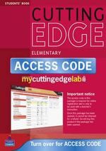 New Cutting Edge Elementary Coursebook/CD-ROM/MyLab Access Card Pack : Cutting Edge - Sarah Cunningham