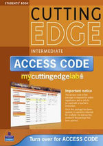 New Cutting Edge Intermediate Coursebook/CD-ROM/MyLab Access Card Pack : Cutting Edge - Sarah Cunningham