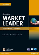 Market Leader Elementary Coursebook & DVD-ROM Pack : Book & MP3 Pack - David Cotton