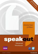 Speakout Advanced Workbook No Key and Audio CD Pack - Antonia Clare