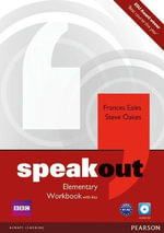 Speakout Elementary Workbook with Key and Audio CD Pack - Frances Eales
