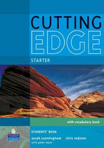 Cutting Edge Starter Students' Book and CD-ROM Pack : Cutting Edge - Sarah Cunningham