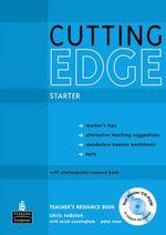 Cutting Edge Starter Teacher's Book/test Master CD-ROM Pack : Cutting Edge - Sarah Cunningham