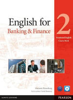 English for Banking & Finance Level 2 Coursebook and CD-ROM Pack : Level 6 - Marjorie Rosenberg