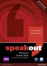Speakout Elementary Students' Book with DVD/active Book and MyLab Pack - Frances Eales