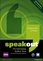 Speakout Pre Intermediate Students' Book with DVD/active Book and MyLab Pack - J. J. Wilson