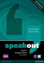 Speakout Starter Students Book with DVD/active Book Multi ROM Pack - Frances Eales