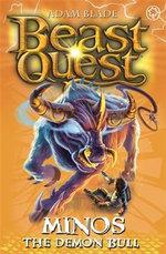 Minos the Demon Bull : Beast Quest : Book 50 - The Warlock's Staff - Adam Blade