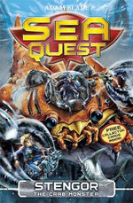 Stengor the Crab Monster : Sea Quest Series : Book 9 - Adam Blade