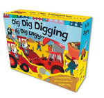 Dig Dig Digging  : Board Book and Toy Boxed Set - Alex Ayliffe