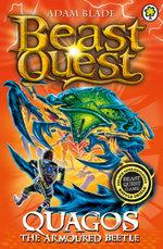 Beast Quest : 86: Quagos the Armoured Beetle - Adam Blade