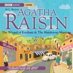 Agatha Raisin : The Wizard of Evesham and the Murderous Marriage: v. 4 - M. C. Beaton