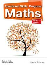 Functional Skills Progress Maths Entry 3 - Level 1 CD-ROM - Debbie Holder