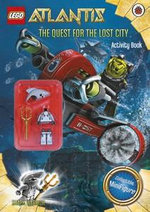 LEGO Atlantis : The Quest for the Lost City : Activity Book with Minifigure - LEGO