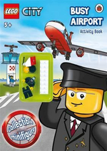 LEGO City : Busy Airport : Activity Book with Minifigure - Ladybird