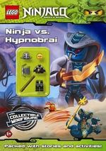 LEGO Ninjago : Ninja vs Hypnobrai : Activity Book with Minifigure - Ladybird