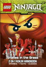 LEGO Ninjago 2-in-1 Ninja Handbook : The Bravest Ninja of All/Snakes in the Grass : Stories, Facts and Quizzes - Ladybird