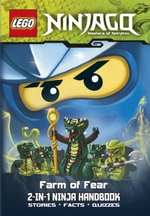LEGO Ninjago 2-in-1 Ninja Handbook : Nothing in the Dark/Farm of Fear : Stories, Facts and Quizzes - Ladybird