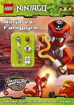 LEGO Ninjago : Ninja vs Fangpyre : Activity Book with Minifigure - Ladybird