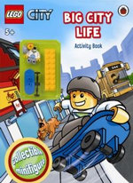 LEGO CITY : Big City Life : Activity Book with LEGO Minifigure - Ladybird