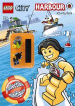 LEGO CITY : Harbour  : Activity Book with LEGO Minifigure - Ladybird