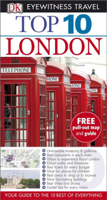 London Eyewitness Top 10 Travel Guide : Free pull out map & guide included  - Roger Williams