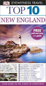 DK Eyewitness Top 10 Travel Guide : New England - Dorling Kindersley