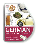 German Visual Phrase : Eyewitness Travel Visual Phrase Book & CD - Dorling Kindersley
