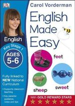 English Made Easy Ages 5-6 Key Stage 1 : Ages 5-6 Key stage 1 - Carol Vorderman