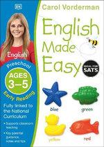 English Made Easy Preschool Early Reading Ages 3-5 : Ages 3-5 preschool - Carol Vorderman