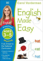English Made Easy Rhyming Preschool Ages 3-5 : Ages 3-5 preschool - Carol Vorderman