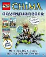 Lego Chima : Adventure Pack : More than 250 Stickers Plus a LEGO's Chima Model! - Dorling Kindersley