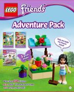 Lego Friends : Adventure Pack : More Than 250 Stickers Plus a LEGO Friends Flower Stand and an Emma Mini-Doll! - Dorling Kindersley