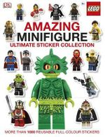 LEGO Amazing Minifigure Ultimate Sticker Collection : More Than 1000 Reusable Full-Colour Stickers - Dorling Kindersley