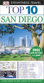 San Diego DK Eyewitness Top 10 Travel Guide : Includes Free Pull Out Map & Guide - Dorling Kindersley