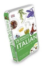 15-minute Italian : Eyewitness Travel 15-Minute Language Packs - Dorling Kindersley