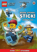 LEGO City : Ready, Steady, Stick! Activity Book - Ladybird