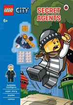 Lego City : Secret Agents Activity Book with Minifigure - Ladybird