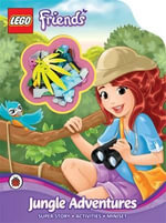 LEGO Friends : Jungle Adventures: Activity Book with Minifigure - Ladybird