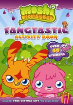 Moshi Monsters : Fangtastic Activity Book with Stickers : Moshi Monsters - Puffin Books