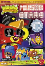 Music Stars : Moshi Monsters - Puffin Books
